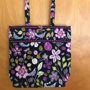 Vera Bradley floral nightingale tote